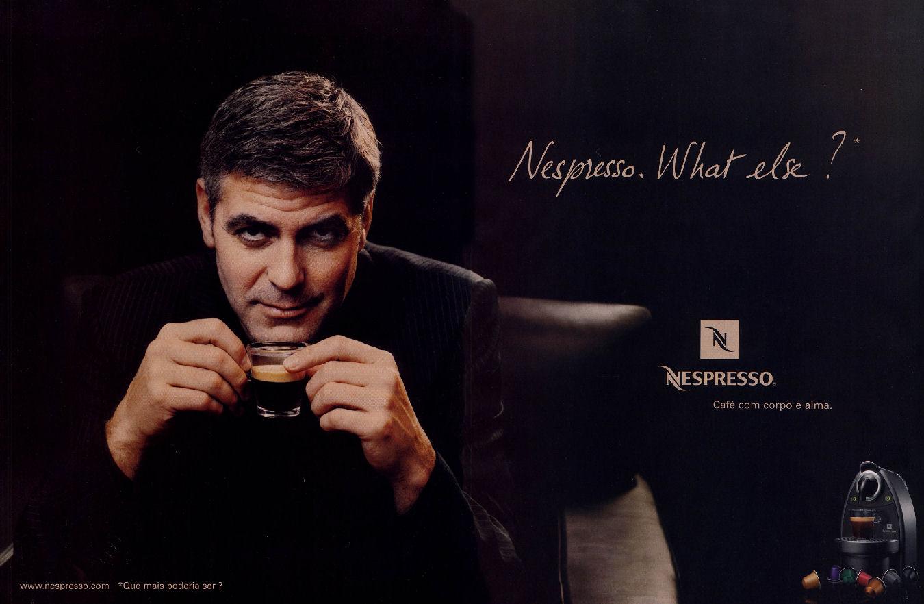 Image result for george clooney nespresso