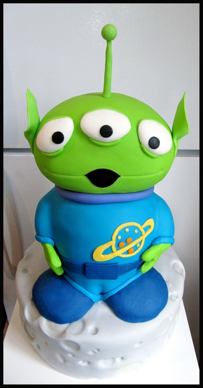 Kakes by Klassic: Toy Story Alien