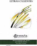 Revista Letras Calientes/Órgano de difusión de Renata Neiva