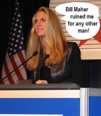 Ann Coulter konservativen Sex Rechnung Maher