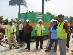 SITE VISIT TO PENANG BRIDGE EXPANSION PROJECT