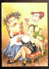 Marcela Troncoso, Humor Gráfico de Tango
