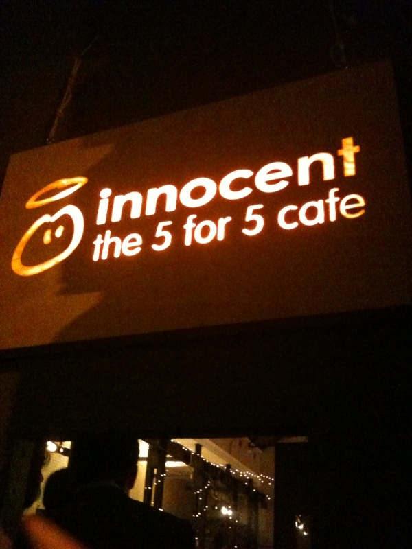 """Tramshed Shoreditch: The Gourmandiser: Innocent """"5-for-5"""" Cafe; Shoreditch"""
