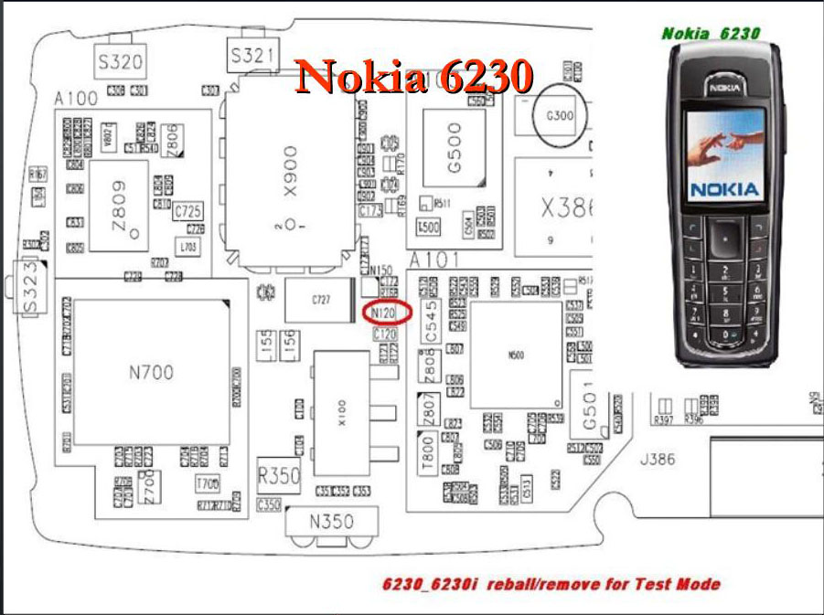 mobile repairing solutions  nokia 6230 local    test mode solution