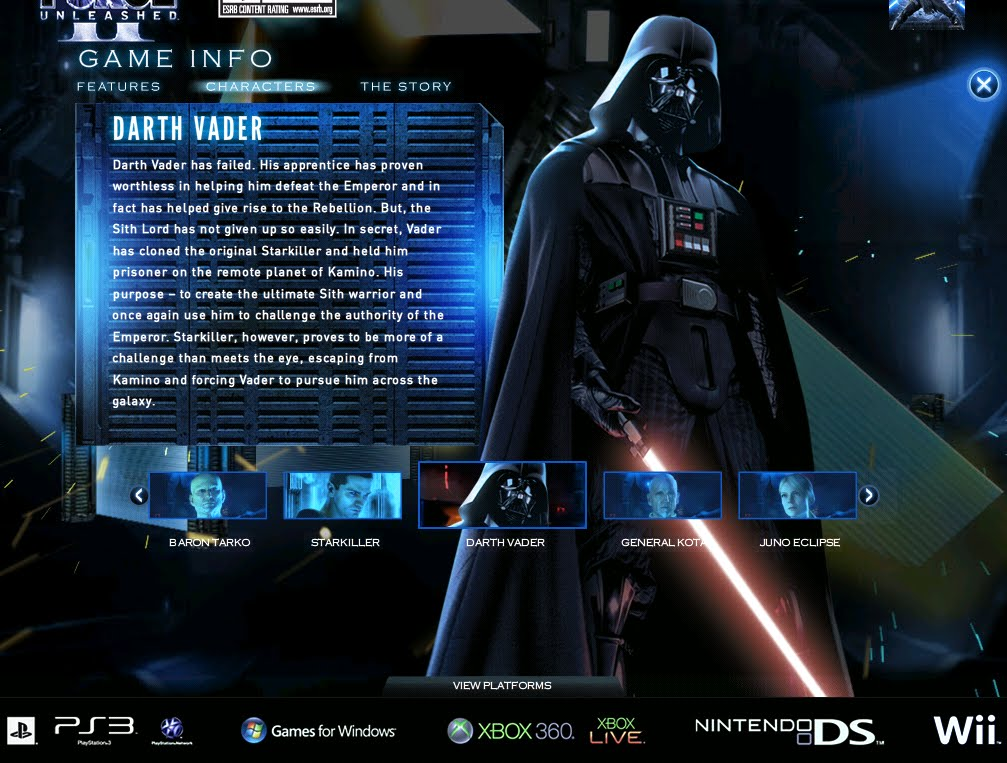 Star Wars The Force Unleashed Ii July 2010