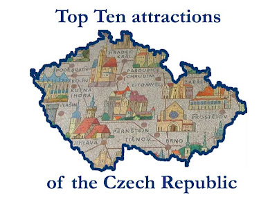 Top ten tourist attractions of the Czech Republic