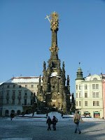 Unesco-listed Holy Trinity Column, Olomouc
