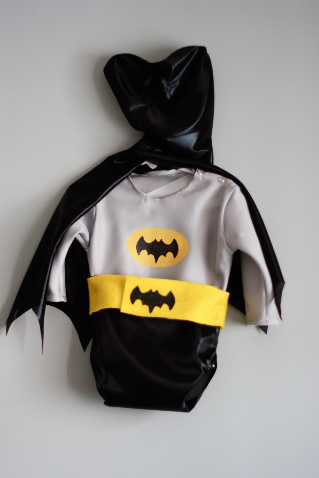 After working on costumes for all girls (seriously seven girl costumes!) I was really excited to receive a request for one that is ALL BOY. Old school ... & Baby Batman Costume - Live Free Creative Co