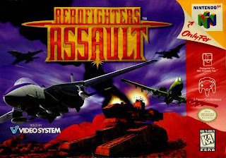 Aero Fighters Assault N64