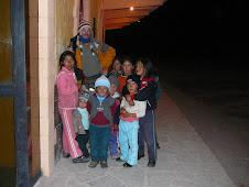 niños estacion chivay