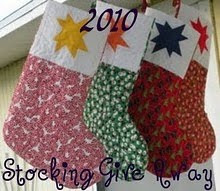 I'm Participating in the Great Stocking Give-away of 2010
