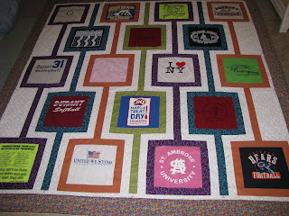 Keepsakesewing T Shirt Quilt For Graduation