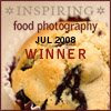 Inspiring Food Photography Award
