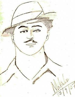 bhagat singh sketch wallpaper - photo #9