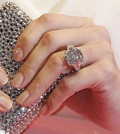 9 Celebrity Engagement Rings In The Loupe