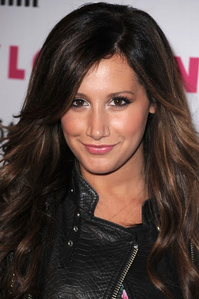 Ashley Tisdale. Hair color used to mean bleaching your way to dry worn out