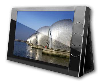 Portable digital Photo Album closeup