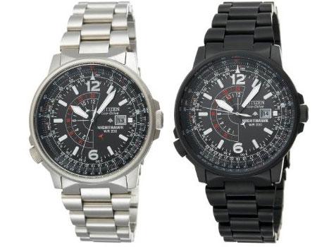 Citizen Nighthawk ECO Drive Men;s Watch