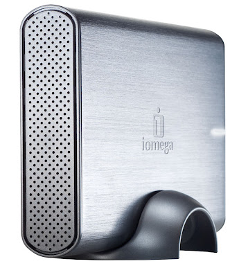 External backup memory 1 TB by Iomega