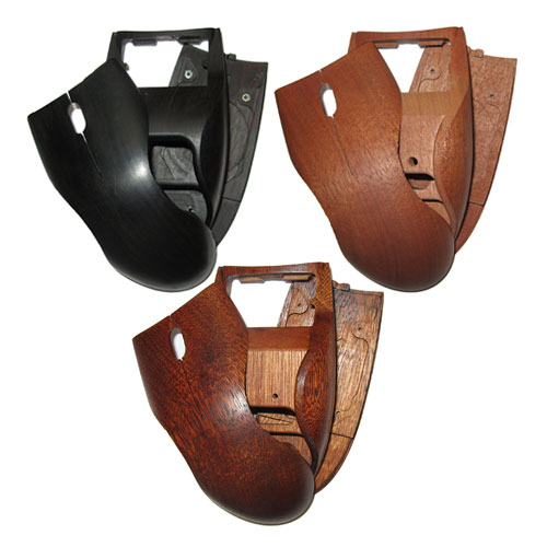 Wooden mouse covers