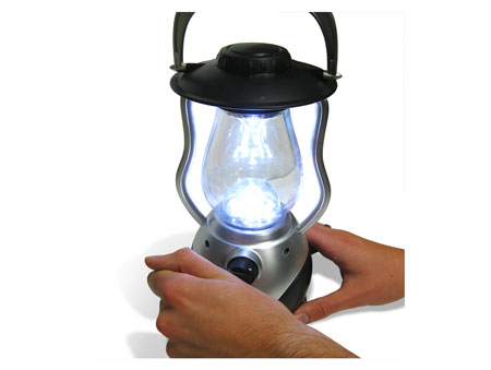 12 LED Lantern that lights without batteries