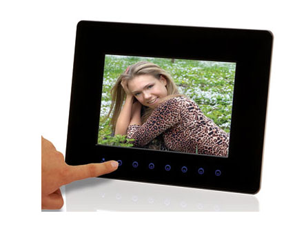 Nutouch touch screen photo frame