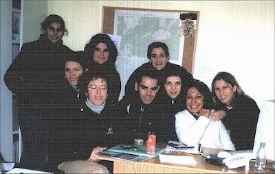Foto de los miembros de la Escuela Taller