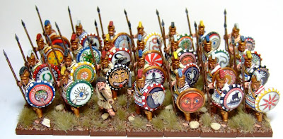 Macphee S Miniature Men Crusader Greek Hoplites