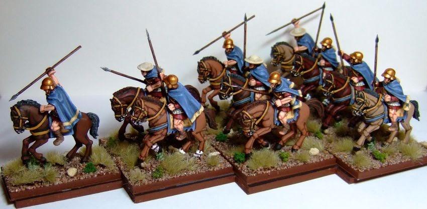 Macphee S Miniature Men 28mm Thessalian Cavalry