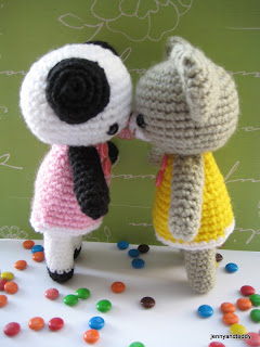 free teddy bear and panda amigurumi free pattern by jennyandteddy.com