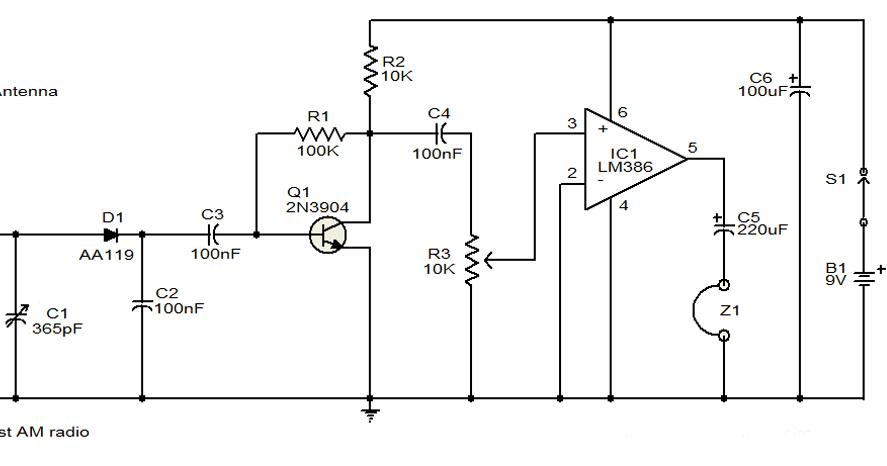 tda1562q audio amplifier circuit