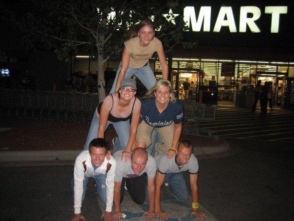 pyramid scheme college days