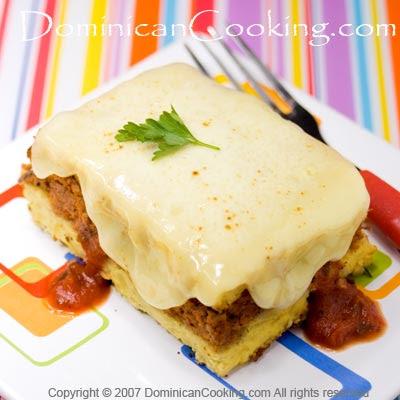 La Chula Mia Pastelon De Patatas Papas Tipico Dominicano