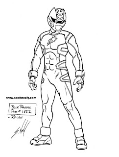 coloring pages of power rangers jungle fury - scott neely 39 s scribbles and sketches june 2008