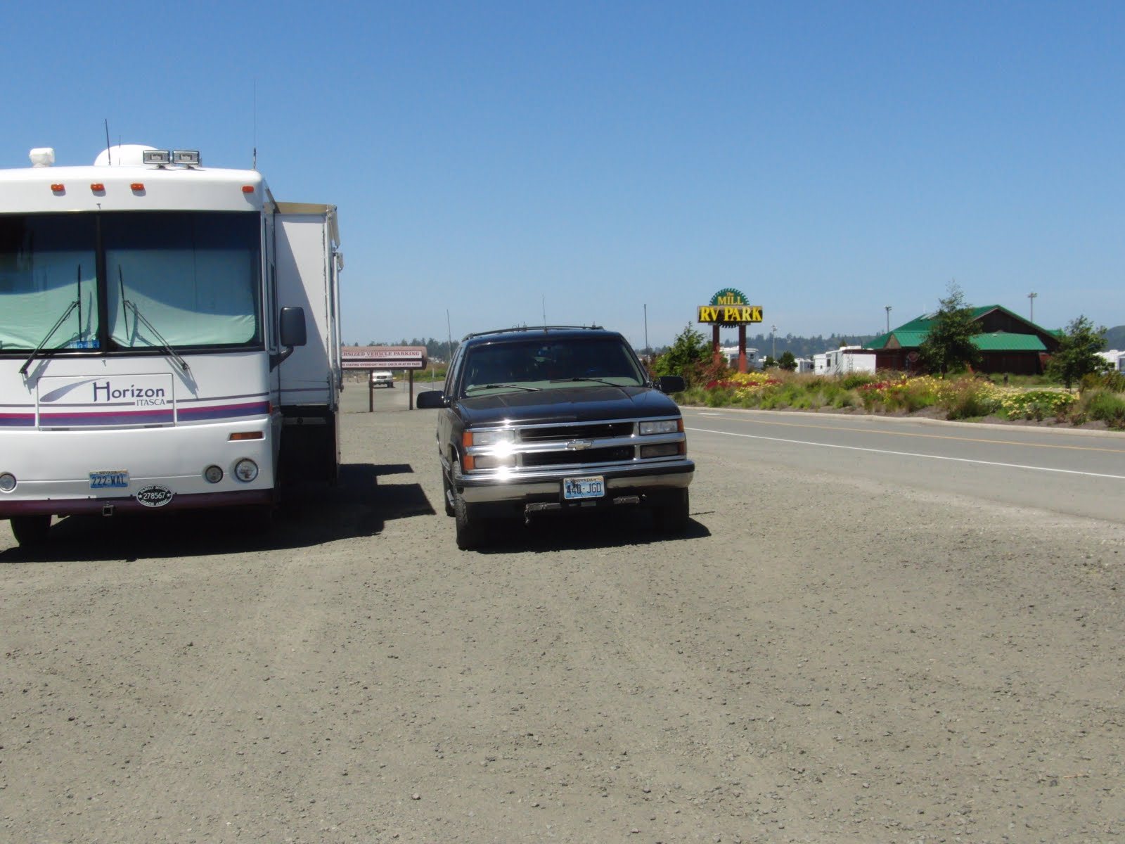 Rv Along The Oregon Coast Mill Casino Amp Rv Park Coos Bay Or