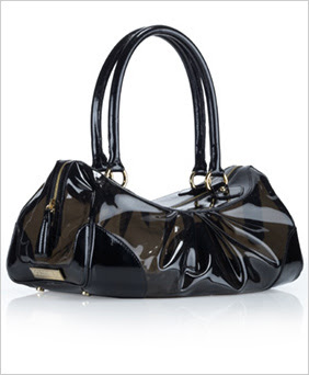 I M Not Sure How Feel About Transparent Bags But Do Like This One From Goldenbleu The Rebecca Bag 335 Is A Charcoal Gray Tinted Vinyl