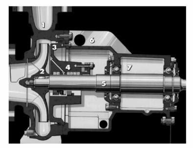 archimedes screw impeller