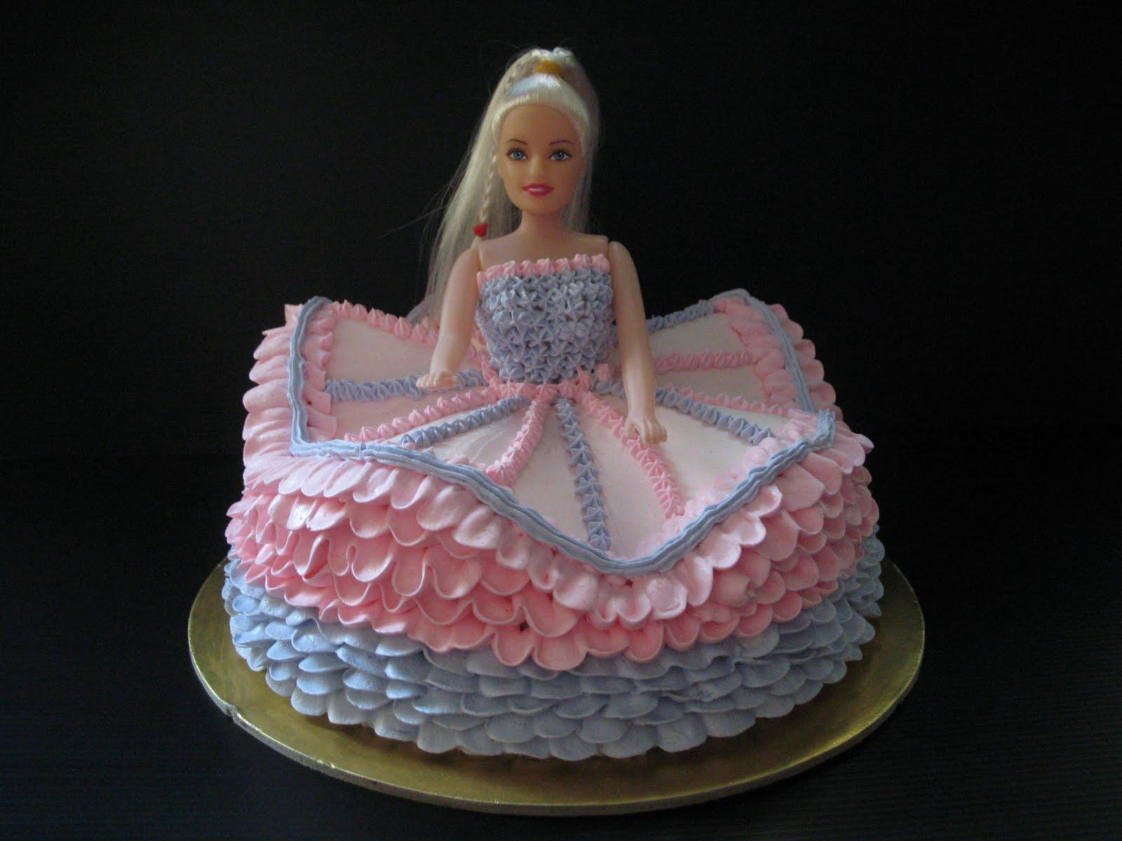 Fun In Cake Decorating Princess Cake