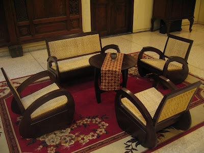 Kursi Kuno Model Becak (SUDAH TERJUAL)