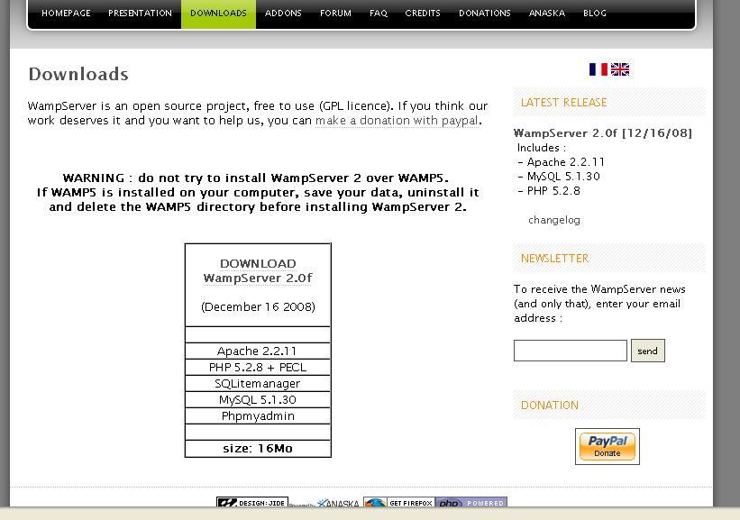 Gambar Download WampServer
