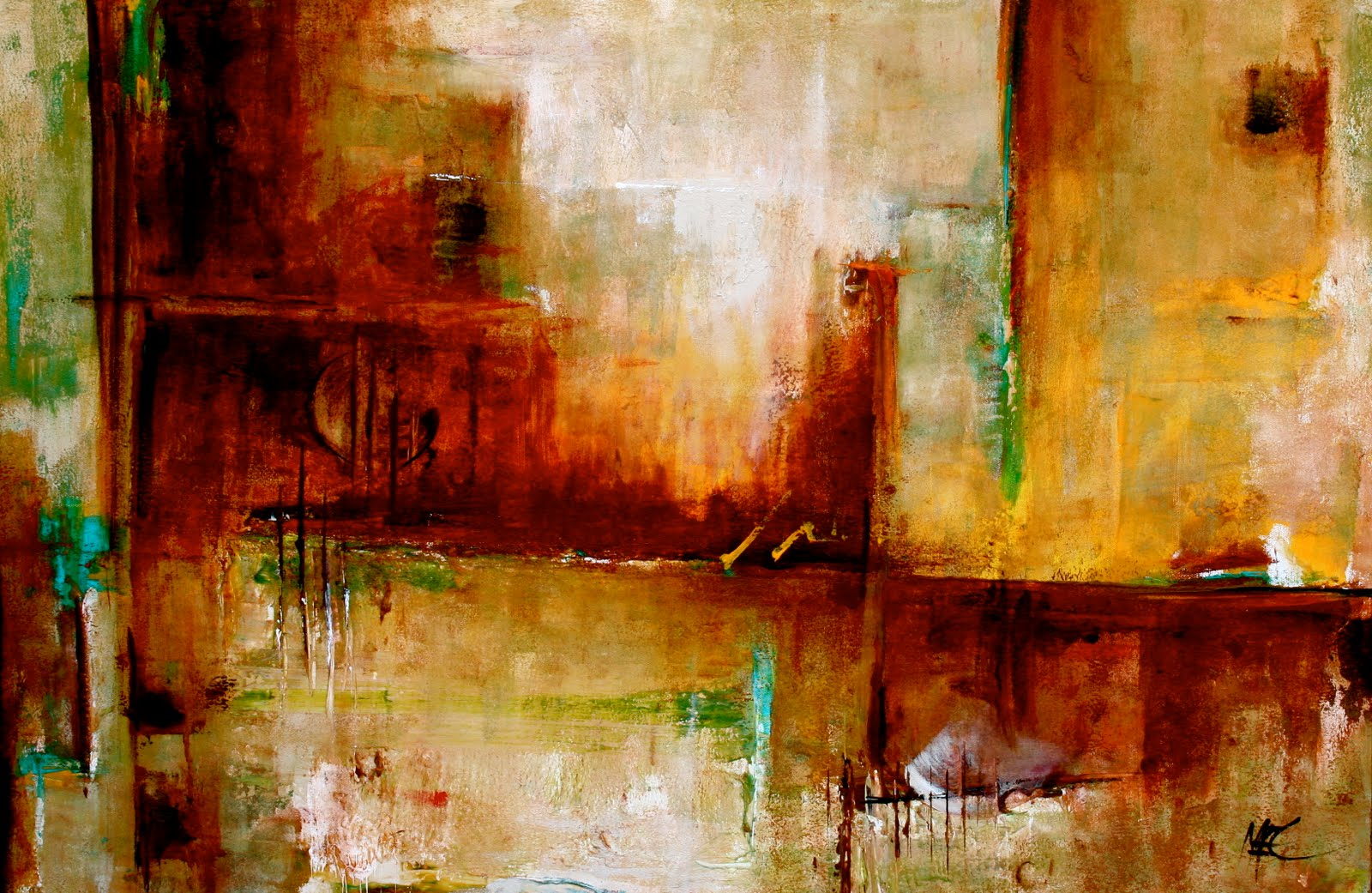 Contemporary Abstract Painting Elizabeth Chapman Art Orchestrate Modern Contemporary Abstract