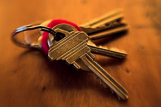 when decluttering your home, start with your keys!
