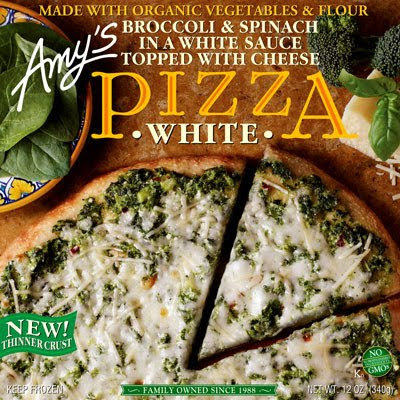 Amy's organic pizza