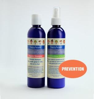 natural lice prevention