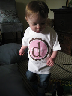 personalized shirt from Luna B. Tee