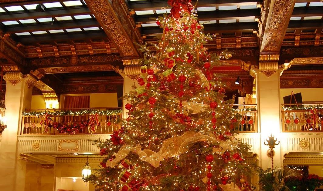 Davenport Hotel Christmas Tree Elegance 2021 The Davenport Hotel And Tower Christmas Tree Elegance Returns To The Davenport Hotel