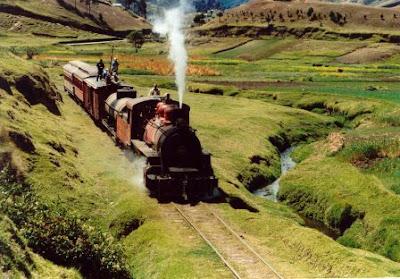 100 años del tren ecuatoriano