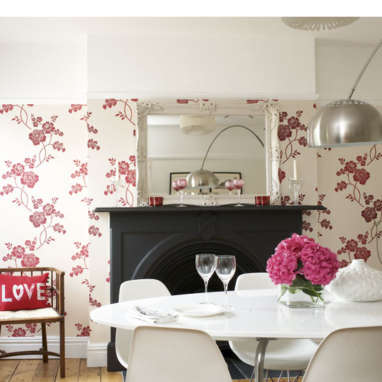 Walls: Wallpaper Inspiration.....Dining Room