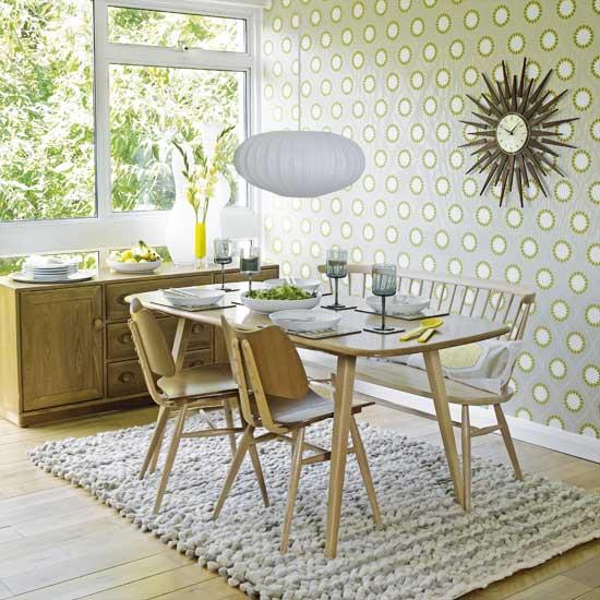 Apartment Dining Room: Walls: Wallpaper Inspiration.....Dining Room