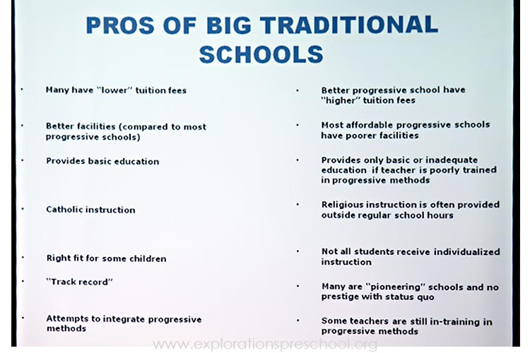An Educational Debate: 10 Progressive vs. Traditional Teaching Ideas by @mraspinall